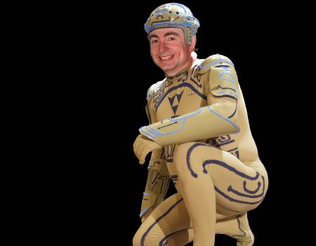 While it was a great show all around, I was a bit BIMmed out that I didn't get a chance to wear my Tron suit at a movie screening this year.
