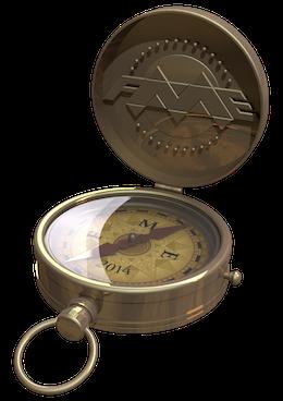 smaller compass