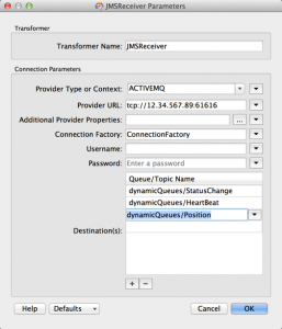 JMSReceiver in FME 2014 SP4