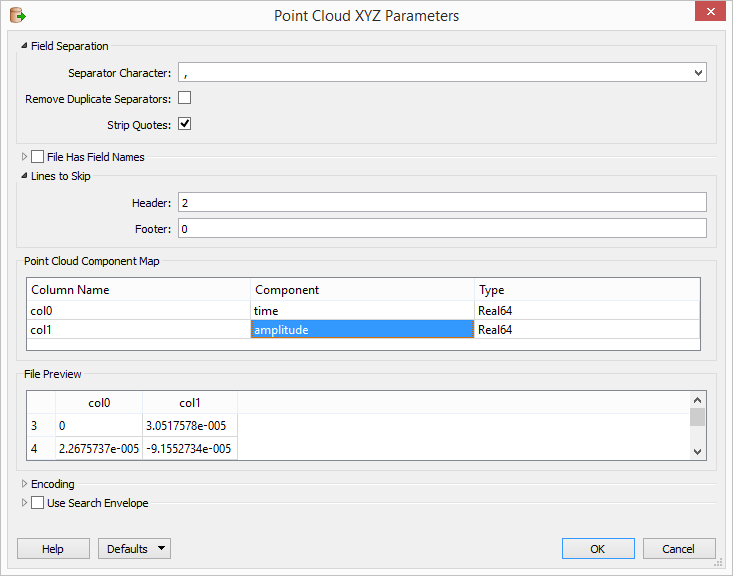 Using FME's Point Cloud XYZ Reader for non-LiDAR data.