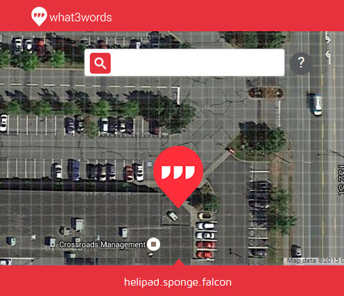 w3w safemap What3words le coordinate GPS in 3 parole