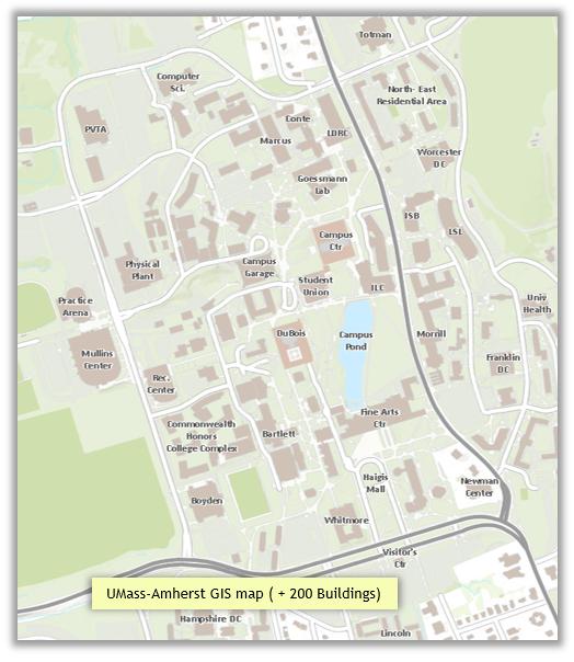 UMassAmherst-GIS-Map