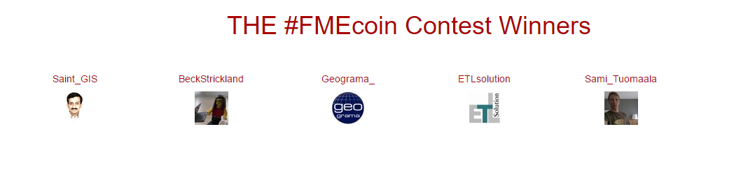 FME Coin Contest - Winners