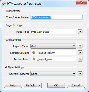 HTMLLayouter