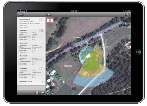 BAL Plan iPad app screenshot