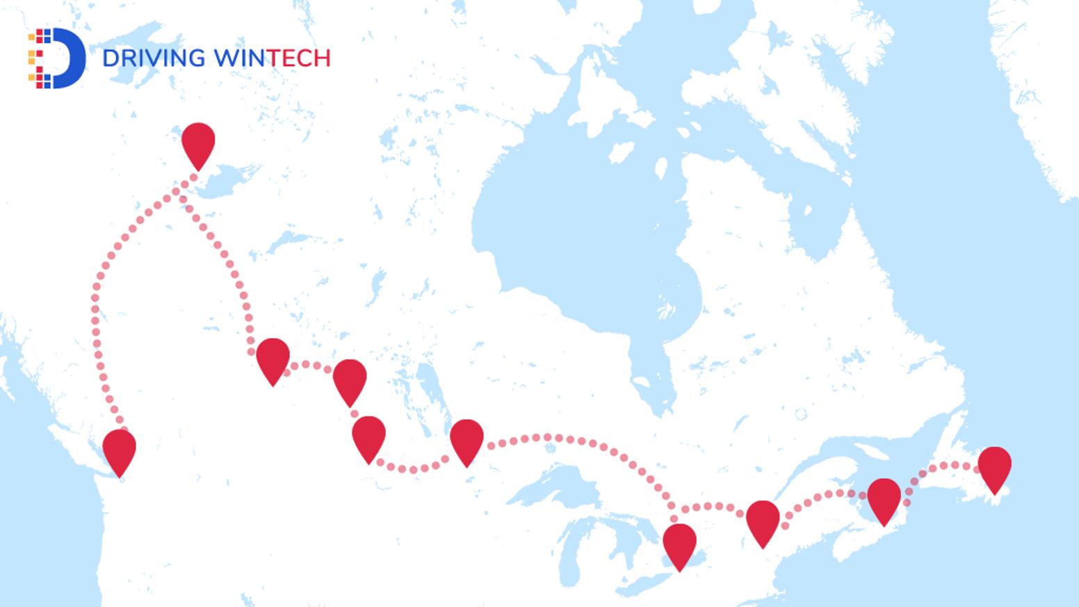 Driving WinTech Map
